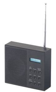 VR-Radio Radio-réveil DAB+ / FM nomade avec écran LCD