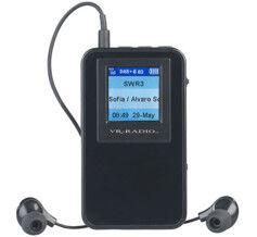 VR-Radio Radio de poche numérique FM / DAB+ avec écouteurs stéréo DOR-320.mini