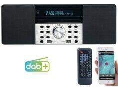 VR-Radio Radio numérique DAB+/FM & lecteur CD avec fonctions bluetooth et chargement USB DOR-600