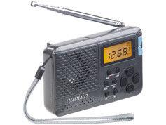 Auvisio Mini récepteur radio mondial 12 bandes TAR-612