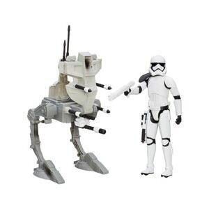 Star Wars Figurine 30 cm avec véhicule Star Wars - Assault Walker - Publicité