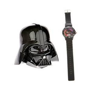 Star Wars Montre analogique Star Wars avec boîte Dark Vador - Publicité