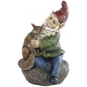Royal Gardineer Nain de jardin ''Olli avec son renard''