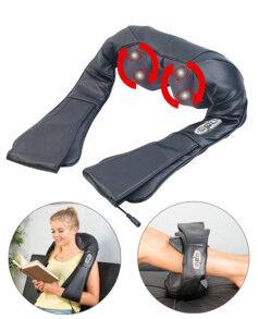 Newgen Medicals Appareil de massage shiatsu à chaleur infrarouge MA-200