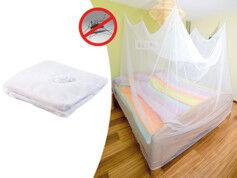 Infactory Moustiquaire de voyage pour lit double