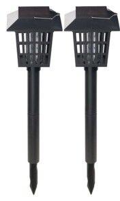 Royal Gardineer 2 lanternes solaires & piège à insecte à LED UV