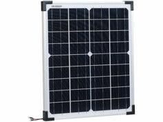 Revolt Panneau solaire mobile monocristallin ''PHO-2000'' 20 W