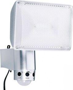 Luminea Projecteur solaire en aluminium avec LED Highpower 6 W et détecteur PIR