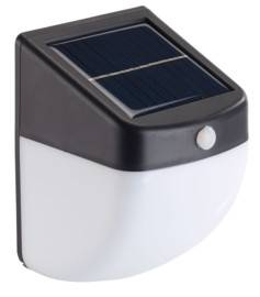 Lunartec Balise / applique solaire LED 1 W avec détecteur de mouvement