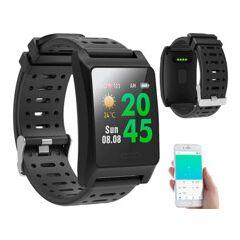 Newgen Medicals Montre fitness GPS à écran XL couleur FBT-220.gps