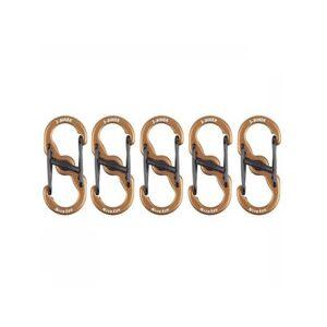NiteIze 5 petits mousquetons S-Biner MicroLock - Publicité