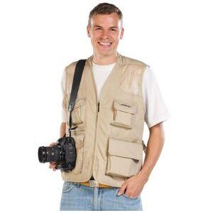 Somikon Veste de loisirs sans manches - beige - taille M - Publicité