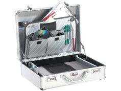 XCase Valise pour portable en aluminium