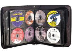 XCase Pochette de rangement pour 240 CD/DVD/BR