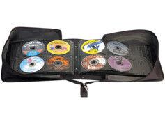 XCase Pochette de rangement pour 504 CD/DVD/BR