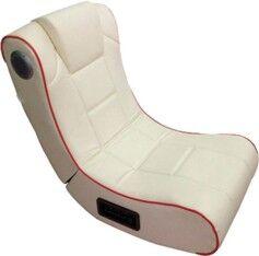 Mod It Fauteuil vibrant avec haut-parleurs intégrés et récepteur Bluetooth , Blanc