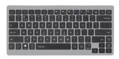 Trust Clavier Trust bluetooth Entea disposition Espagne