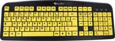 General Keys Clavier USB confort avec grandes touches contrastées
