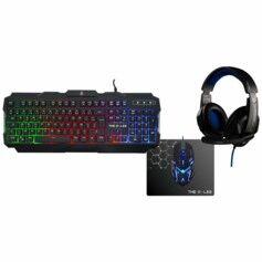 G-Lab Pack PC gaming 4 en 1 Argon