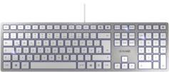 Cherry Clavier USB ultra-plat KC 6000 Slim - Argent