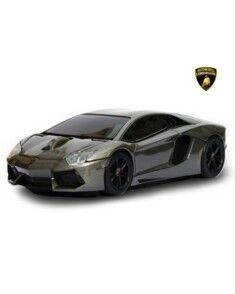 Landmice Souris sans fil voiture Lamborghini Aventador Gris