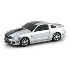 Landmice Souris sans fil voiture Ford Mustang GT - Argent