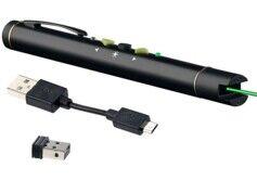 General Keys Pointeur laser vert avec fonction télécommande