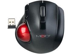Mod It Souris trackball laser compacte sans fil 1200 dpi à 5 boutons et molette