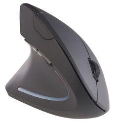General Keys Souris optique ergonomique sans fil 1600 dpi 2,4 GHz pour gauchers
