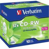 Verbatim CD-RW Verbatim à enregistrement rapide (x10)
