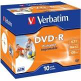 Verbatim DVD-R Verbatim AZO Printable 4,7 Go (x10)