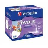 Verbatim DVD+R Verbatim AZO Printable 4,7 Go (x10)