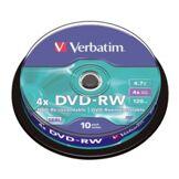 Verbatim DVD-RW Verbatim Spindle 4,7 Go (x10)