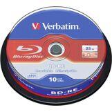 Verbatim Blu Ray SL Réinscriptibles - 25 Go 2x (x10)