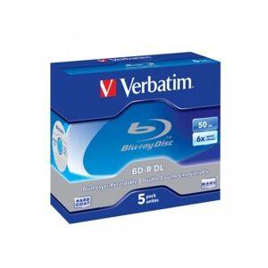 Verbatim Blu Ray DL Type LTH - 50 Go 6x (x5)