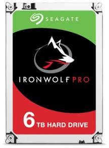 Seagate Disque dur 3.5 Seagate Iron Wolf Pro - 6 To