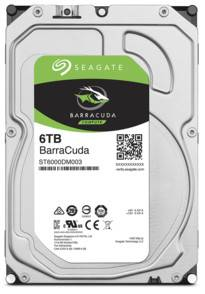 Seagate Disque dur 3,5'' Seagate BarraCuda - 6 To