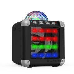 iDance Mini enceinte sans fil disco Cube Mini CM-3 - Noir