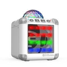 iDance Mini enceinte sans fil disco Cube Mini CM-3 - Blanc