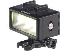 Somikon Lampe LED sous-marine 360 lm pour caméra sport FVL-360.uw