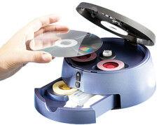Q-Sonic Réparateur CD / DVD / Blu-Ray automatique