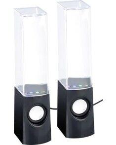 Auvisio Haut-parleurs ''MSS-11.Y'' avec jeux d'eau et effets lumineux