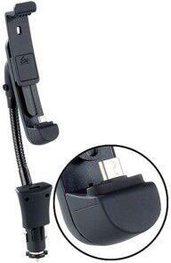 Callstel Support-chargeur voiture col de cygne avec port Micro-USB