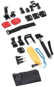 Somikon 20 accessoires pour caméras sport Somikon et GoPro