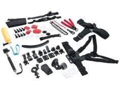 Somikon 66 accessoires pour caméras sport Somikon et GoPro