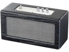 Auvisio Haut-parleur mobile sans fil 40 W design retro MSS-450.rtro
