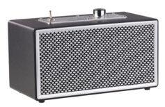Auvisio Enceinte mobile rétro 10 W RMS à fonction bluetooth