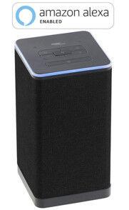 Auvisio Enceinte stéréo nomade wifi multiroom compatible Amazon Alexa QAS-400
