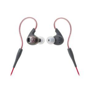 Audio Technica Écouteurs sport étanches Sonicsport : ATH-SPORT3 - rouge - Publicité