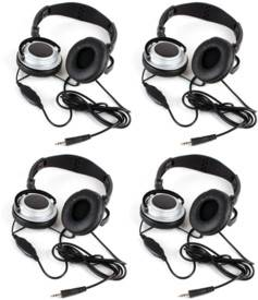 4 casques audio filaires Mr. Strand SH-800